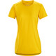 Arc'teryx Phase SL Shortsleeve Shirt Women yellow